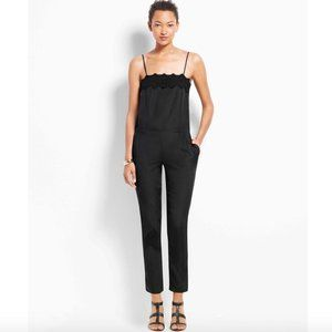 Ann Taylor Spaghetti Strap Jumpsuit Size 8